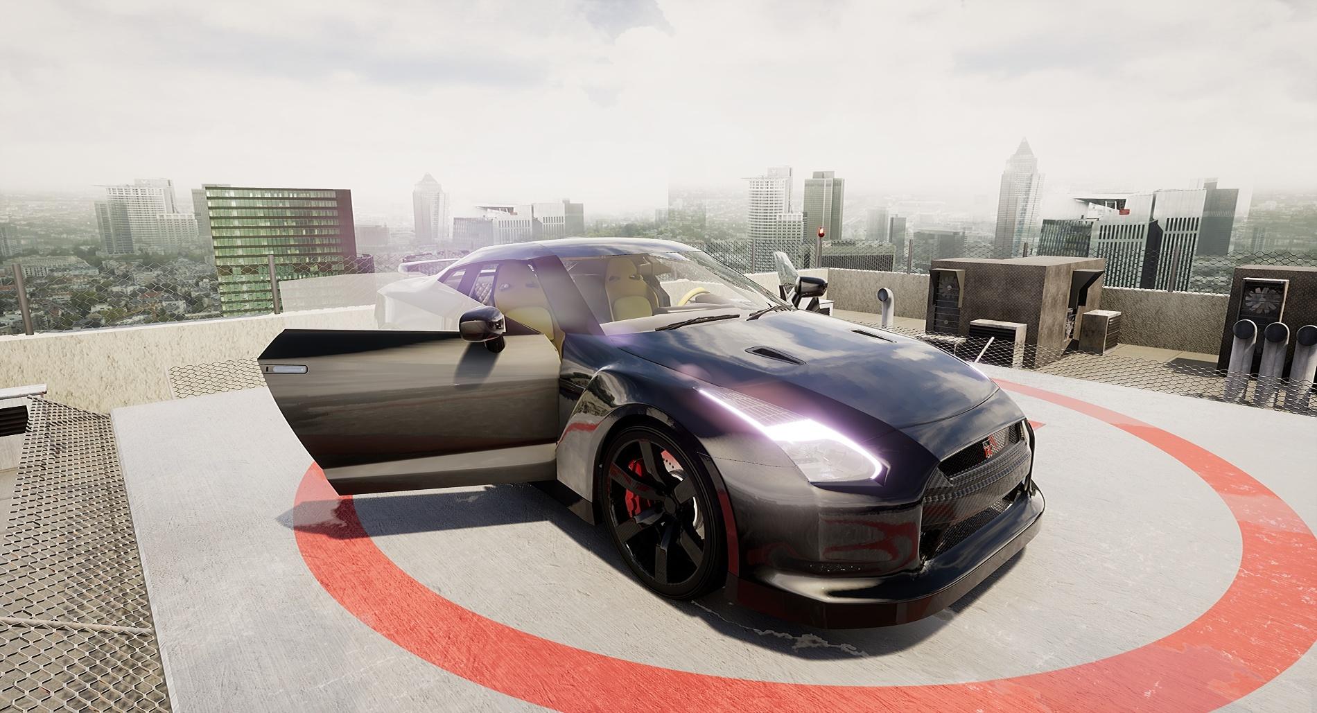 Nissan GTR model